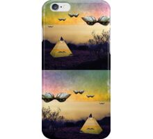 Search the boundaries to find the peace you seek iPhone Case/Skin