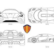 Koenigsegg Agera R - BluePrint by SamSaab