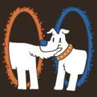 Portal Pup by caravantshirts