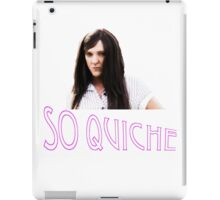 Ja'mie Quiche iPad Case/Skin