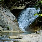 Lace Falls at Natural Bridge-VA by ctheworld
