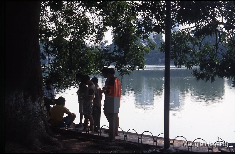 Lake Ho Hoen Kiem, Vietnam by Maggie Hegarty