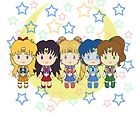 Sailor Moon Inner Sailor Senshi by Soseiru