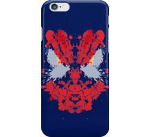 Spiderman Rorschach (Marvel) iPhone Case/Skin