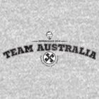 Team Australia by Ross Robinson