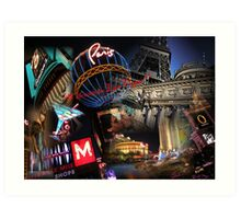 Welcome to Las Vegas!! Art Print