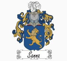 Sanna Coat of Arms (di Sardinia) by coatsofarms