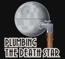 Plumbing the Death Star Kids Clothes