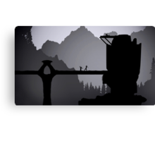 Skyrim: Valtheim Towers Canvas Print