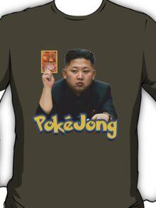 Pokejong - Kim Jong-un (North Korea) playing Pokemon T-Shirt