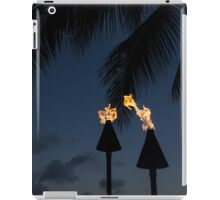 Of Tiki Torches, Palm Trees and Beach Parties iPad Case/Skin