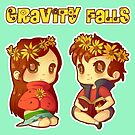 Flower Power Pines Twins by Pluph