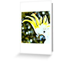 Cockatoo in Melbourne Greeting Card