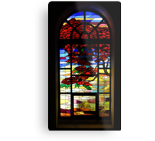 A Tale of Windows and Magical Landscapes - 1 Metal Print