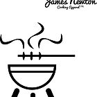 BBQ T-shirt - James Newton Apparel by springwoodbooks