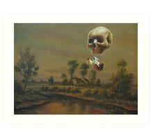 Travelling Ghost Art Print