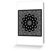 Bandana Greeting Card