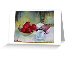 Summer apples Greeting Card