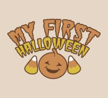 My First Halloween! with pumpkin by jazzydevil