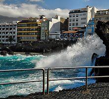 Puerto de la Cruz, Tenerife, Spain by Justin Mitchell
