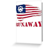 Crown The Empire- Runaway Greeting Card