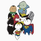 Justice League tshirt by RobStears