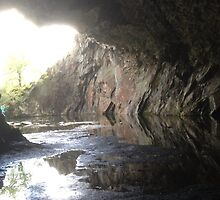 Old Slate Mine above Rydal Water, Cumbria, UK by GeorgeOne