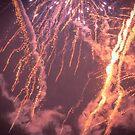 Firework Storm - From Fiestas del Apóstol in Santiago de Compostela by Alexandra Vaughan Photography