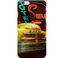 MoPar Cowboy Checks Out of Motel Shell iPhone Case/Skin