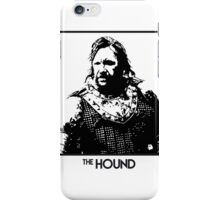 The Hound Inspired Artwork 'Game of Thrones' iPhone Case/Skin