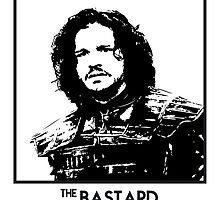 The Bastard Inspired Artwork 'Game of Thrones' by ComedyQuotes