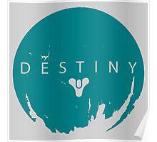 Destiny - Green Water Logo by AronGilli Poster