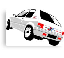 Peugeot 205 Rallye Canvas Print