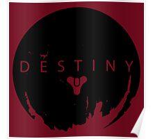 Destiny - Black Logo by AronGilli Poster