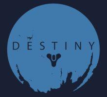 Destiny - Skyblue Logo by AronGilli Kids Clothes