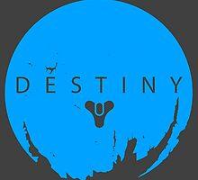 Destiny - Skyblue Logo by AronGilli by AronGilli