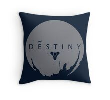 Destiny - Grey Logo by AronGilli Throw Pillow