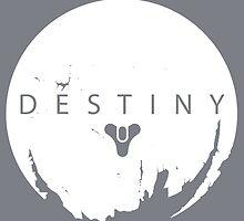 Destiny - White Logo by AronGilli by AronGilli