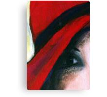 """Her Eye....Her Soul"" Canvas Print"