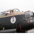 Lancaster Bomber  at Biggin Hill by Keith Larby