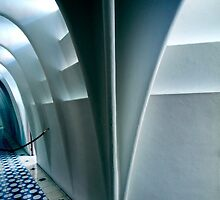 Architecture in Barcelona by Gaudi by Angelika  Vogel