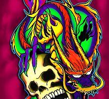 "Conquer Over Death- Original by Tomas ""Twiggy"" Ramirez"