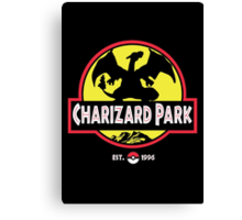 Charizard Park Canvas Print