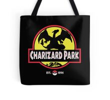 Charizard Park Tote Bag