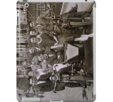 Family and friends - London 1920s iPad Case/Skin