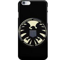 Distressed Classic S.H.I.E.L.D. Logo iPhone Case/Skin
