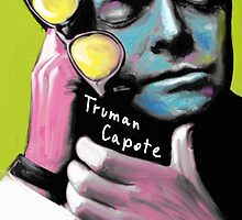 Truman Capote by zmudart