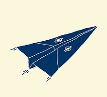 Paper Airplane 11 by YoPedro