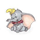 Disney's Dumbo by vknight1989