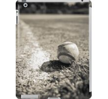 Baseball on the Edge iPad Case/Skin